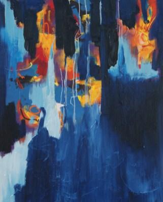 schilderij, robert, pennekamp, leuk voor jou, 654, olieverf, canvas, linnen, abstract, blauw, lichtblauw, kopen, huren, blauw, lichtblauw, kopen, huren, leasen, figuratief, wild