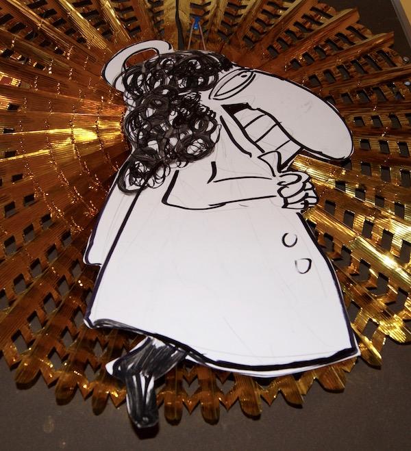 zevende, 7, gelukkig nieuwjaar, we wish, beste, wens, robert, pennekamp, 2016, angel, engel, street art, strip, cartoon