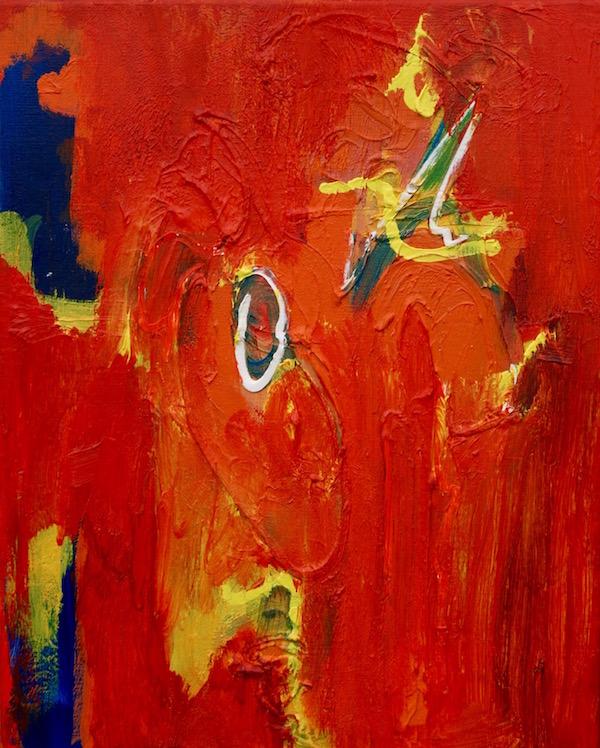 Ooit rood, ever red, 548, schilderij, painting, Robert Pennekamp, gemengde technieken, 2017, Ooit Rood,