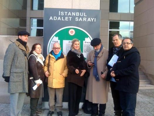 PEN Turkey at the Istanbul Prosecutor's Office