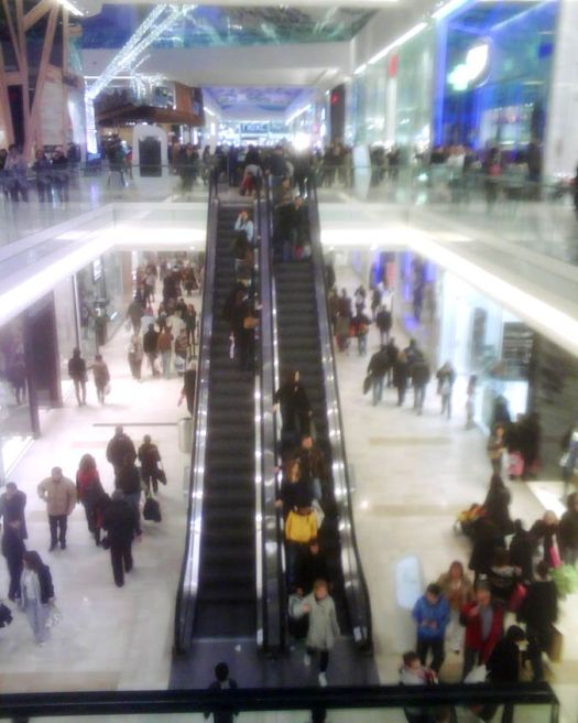 Westfield Shopping Centre, Shepherd's Bush, London
