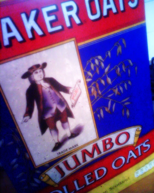 Quaker JUMBO oats make a lovely porridge