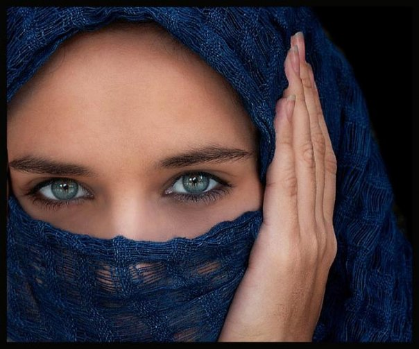 'Her Eyes' by Ranoush on Flickr. Creative Commons Licence.