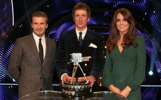 David Beckham, Bradley Wiggins and the Dutchess of Cambridge
