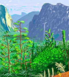 Why doesn't David Hockney see beauty in wind farms?
