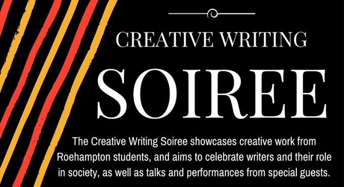 Flyer for Creative Writing Soiree