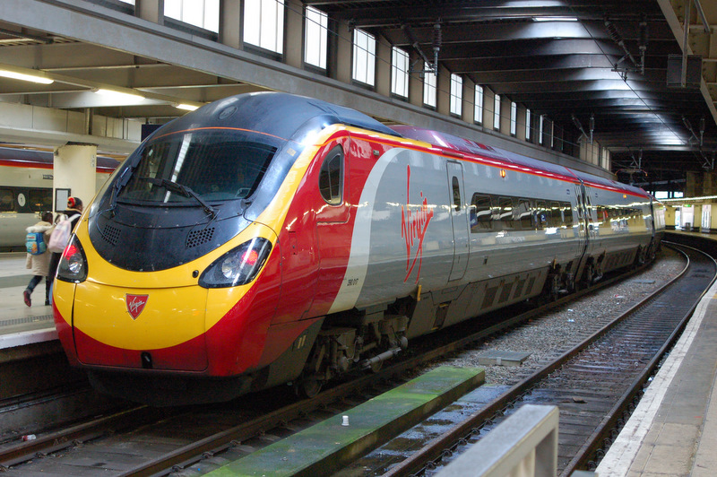 Virgin Pendolino at Euston