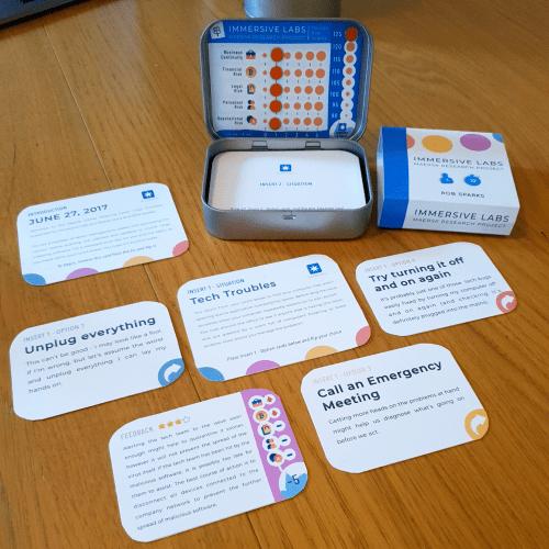 Immersive Labs CV Game
