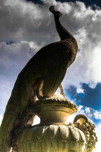 Standbeeld landgoed Staverden