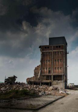 Betonmortelcentrale Harderwijk half