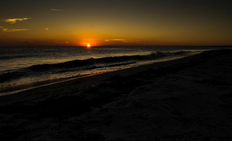 Sunset in Femer Baelt