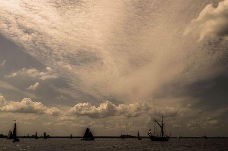 Zeilfeest op Eemmeer
