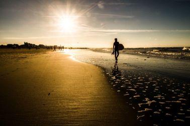 Strand Scheveningen bij pier