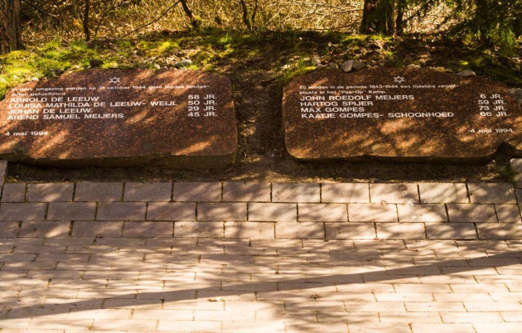 Verscholen dorp, Vierhouten, monument omgekomenen