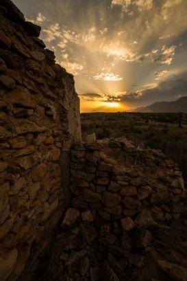 Sunset Hondon de los Frailes, Alicante, Spain