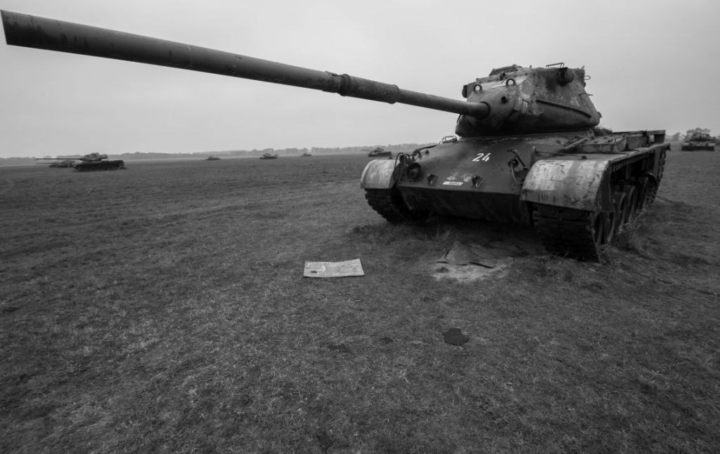 Panzerfriedhof schietbaan