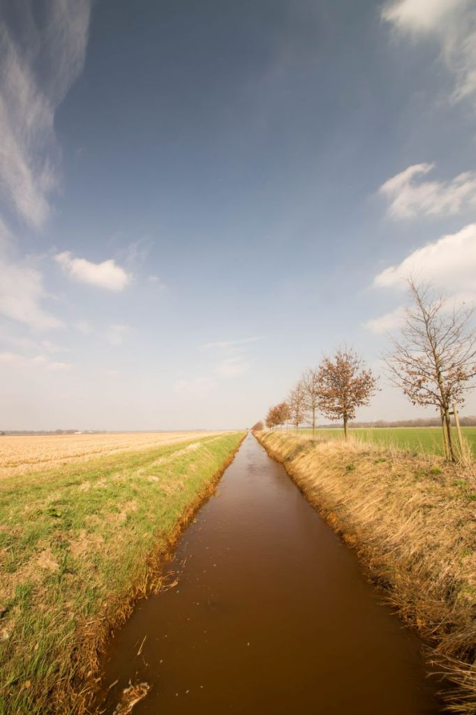 Landschapsfoto Groningen