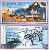 Antarctica 1 Dollar Bank Note