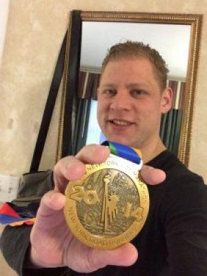 Robert NYCM Medal