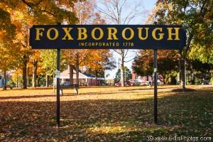 Foxboro - Sign - Autumn 2013