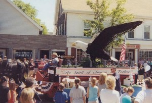 Jaycee Founders Day Float, 2002