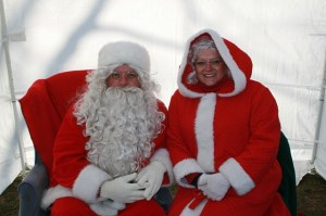 Santa and Mrs. Claus, Great friends to the Foxboro Jaycees