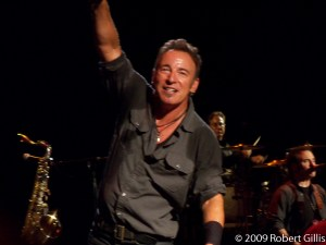Bruce Springsteen at Comcast Center Mansfield August 2009, photo by me!