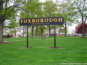 Foxboro - Sign - Spring