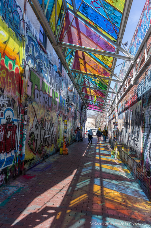 Graffiti Alley Cambridge