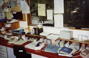 So many memories at this desk.
