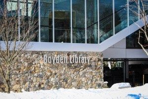 New expansion completed; Boyden Library Foxboro 2014