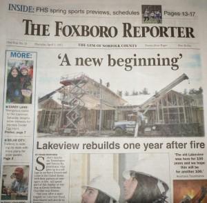 The Foxboro Reporter