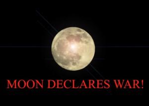 Moon declares war