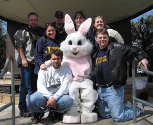 Foxboro Jaycees and the Easter Bunny