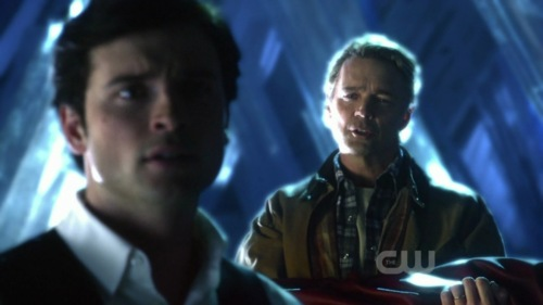 Jonathan and Clark Kent - Smallville Finale