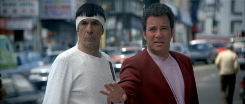 Kiek and Spock in Star Trek IV: The Voyage Home