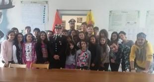 A scuola di legalità in Basilicata insieme all'Arma dei Carabinieri