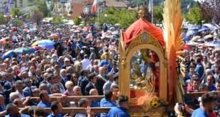 La Madonna di Viggiano a Matera in processione per una settimana