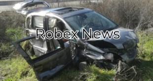 Due feriti in un incidente stradale nella zona industriale di Melfi