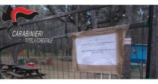 Metaponto Lido, camping sequestrato dai Carabinieri Forestali