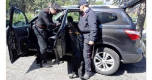 Montescaglioso, 36enne con droga arrestato dai Carabinieri