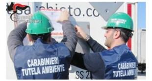 Contrasto alle violazioni ambientali in Basilicata, un sequestro e quattro denunce dei Carabinieri del NOE