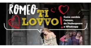 """Potenza, al Teatro """"Francesco Stabile"""" lo spettacolo """"Romeo Ti Lovvo"""""""