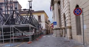 """Potenza, per i preparativi del """"Capodanno Rai"""" nuove disposizioni sul traffico"""