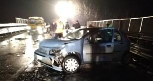 Melfi, un morto e due feriti in un incidente stradale