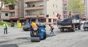 Potenza, 4 ditte al lavoro per il ripristino della sede stradale – Video
