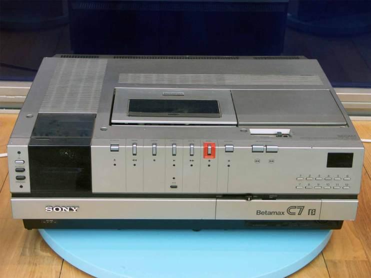 Sony-Betamax-Recorder