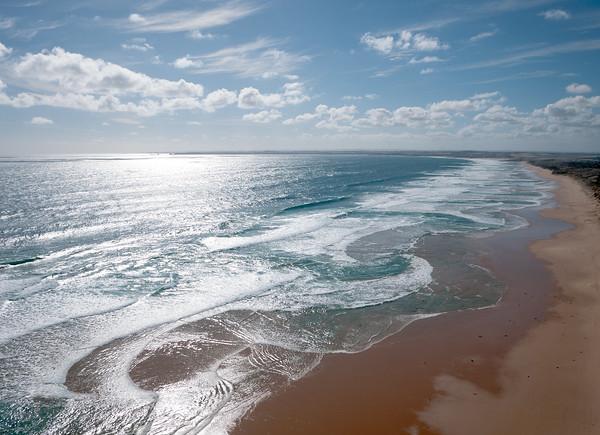 Cape Woolamai Beach, Phillip Island, Victoria, Australia.