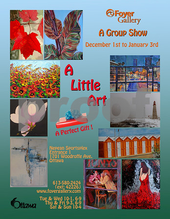 A Little Art - Foyer Gallery 2015