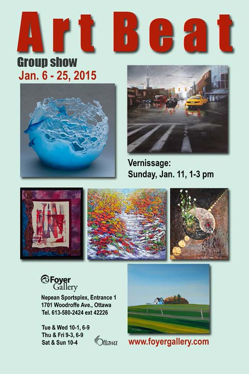 Art Beat - Art and photography show at the Foyer Gallery
